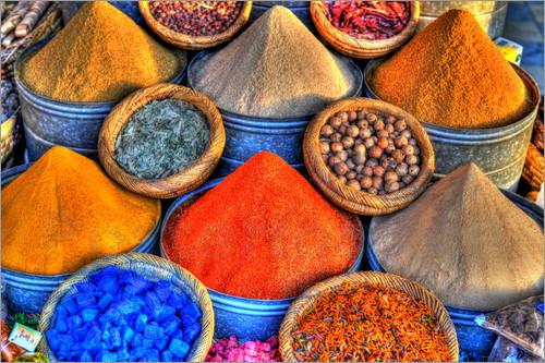 poster-hdr-gewuerzen-in-der-bazar-der-marrakesch-marokko-06-477850